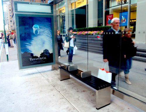 NY Transit Benches